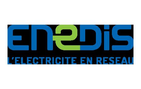 Logo Enedis - L'électricité en réseau