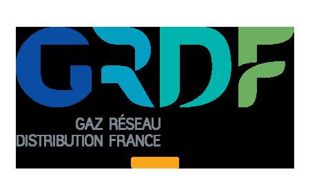 logo GRDF - Gaz Réseau Distribution France
