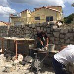 Construction de mur en pierre - STPP du Velay